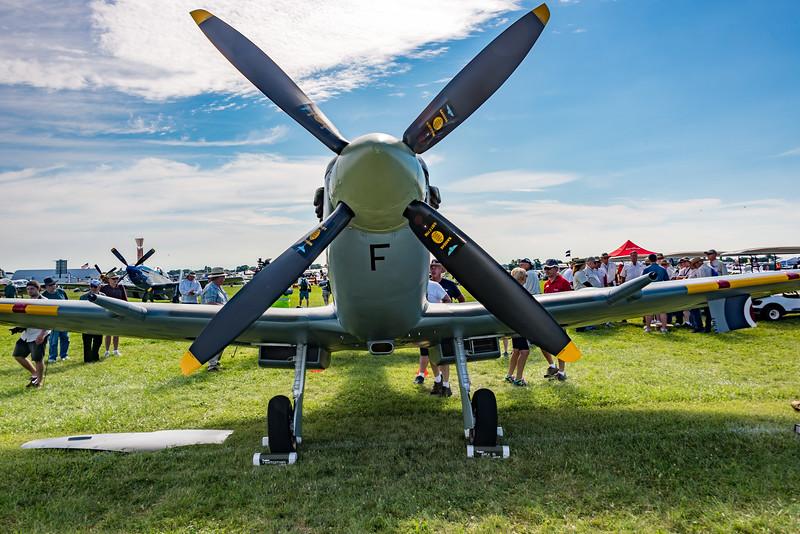 Vickers Spitfire Mk IX, WWII Reserve Champion, OSH17