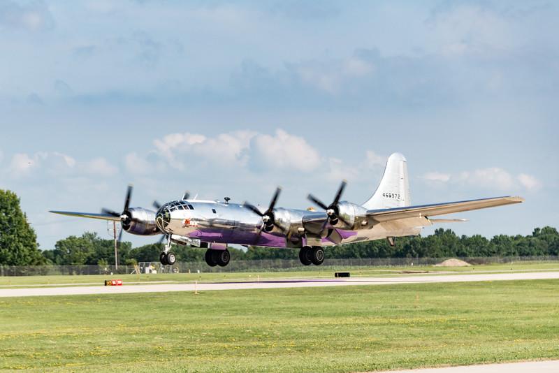 "Newly Restored B-29 ""Doc"""