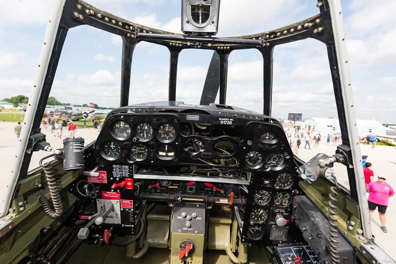 Grumman TBM-3E Cockpit