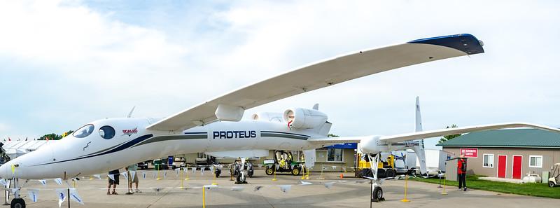 Scaled Composites Prometheus on display