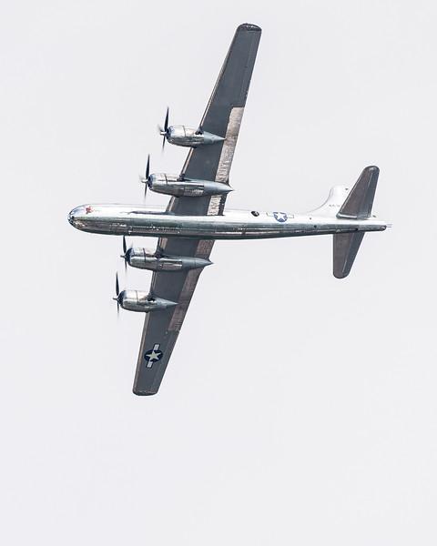 B-29 Doc's turn to make a pass