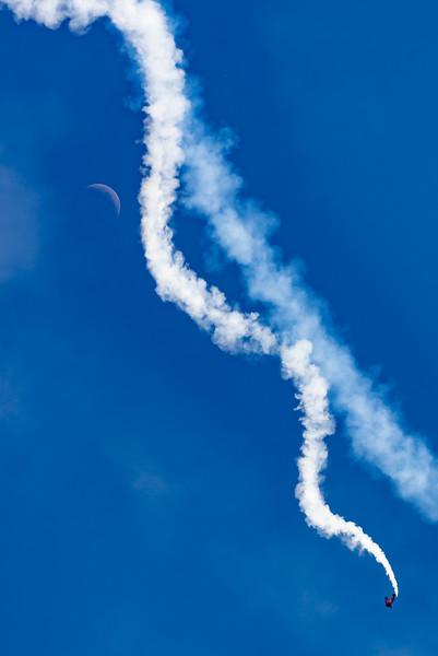 John Klatt Spins Past The Moon