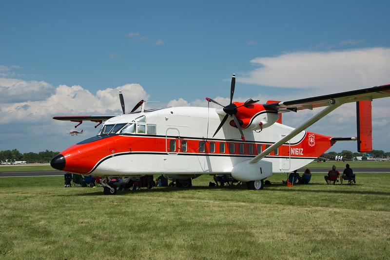 Shorts Sherpa, US Forrest Service jumper plane