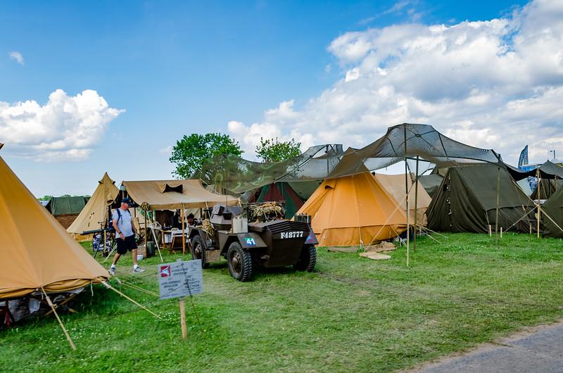 Re-enactor's Camp