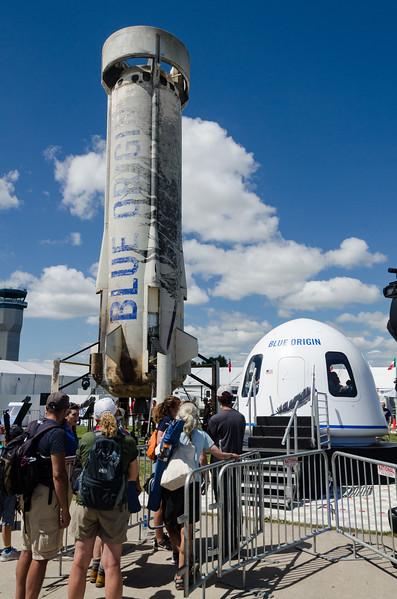 Blue Origin ReUsed Rocket and Passenger Capsule Simulator, OSH17