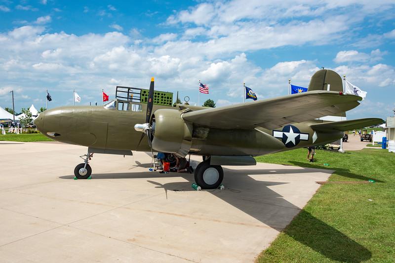 Douglas A20G, 1943 San Antonio, Only A-20 flying