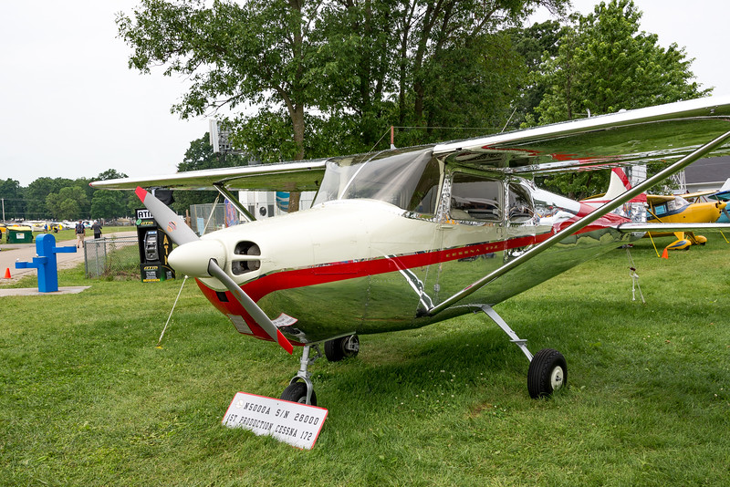First Cessna 172 Produced