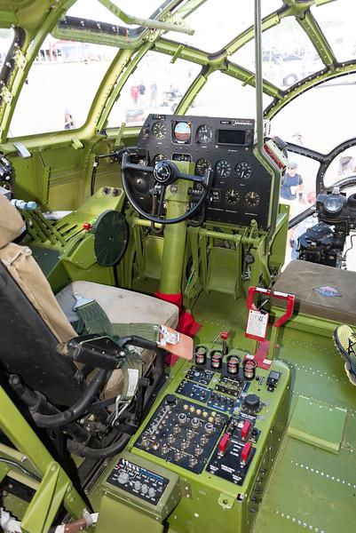 "Left Seat Of B-29 ""Doc"", OSH17"