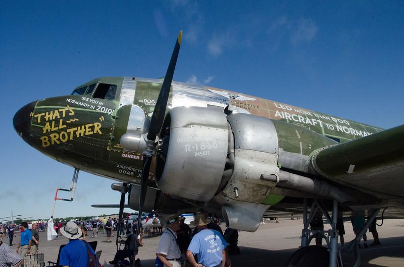 Historic C-47 in restoration