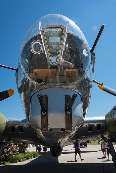 Business End of B-17