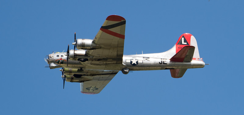 B-17 Fly Fortress Show Pass, OSH17