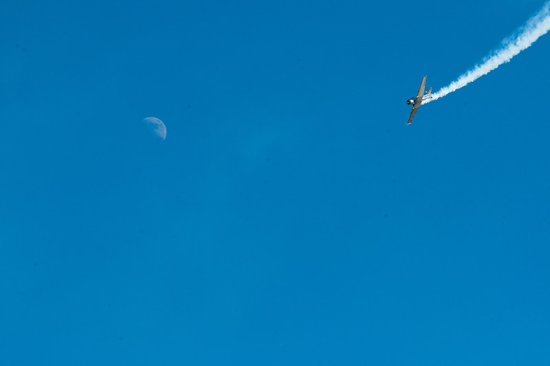 T-6 Attacking the Moon