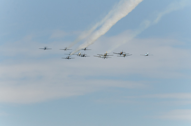 T-28s Outbound