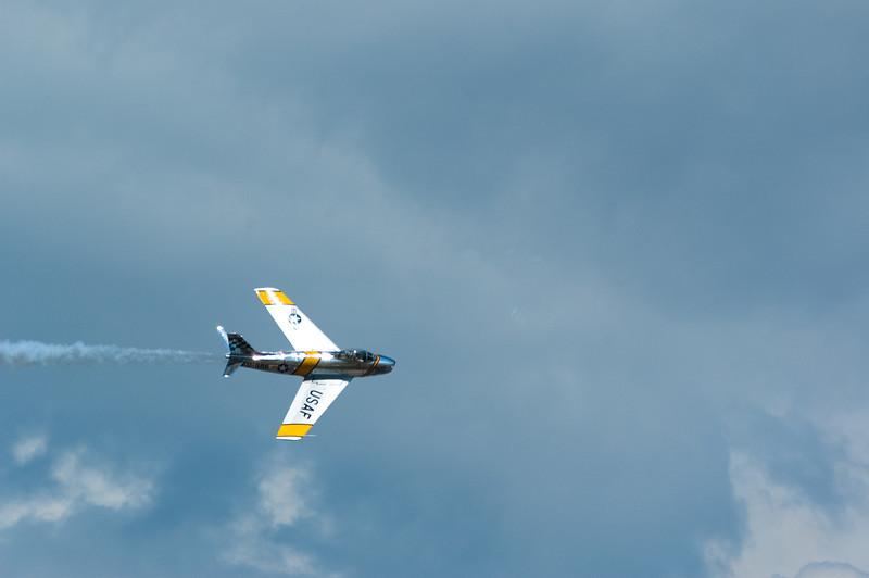 F-86 Sabre demo