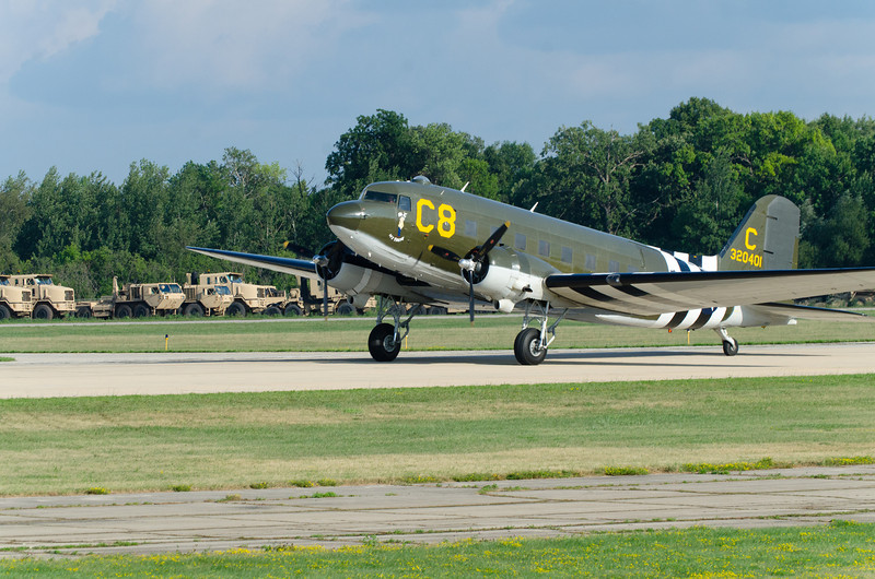 C-47 On Take-Off Roll