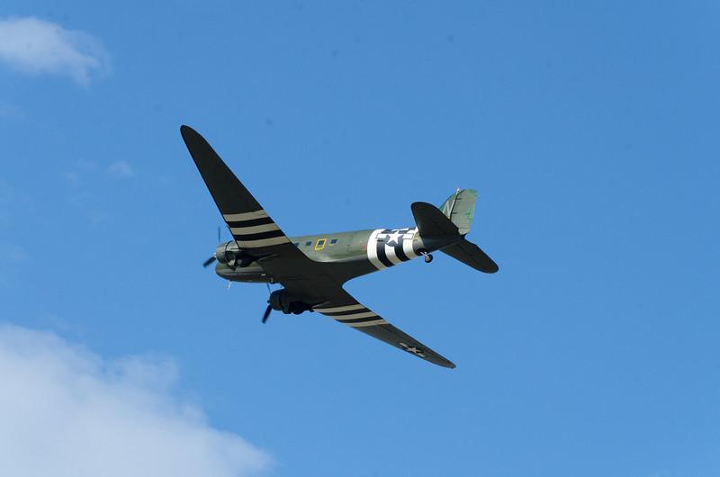 Douglas C-47 Gooney Bird, in D-Day Livery