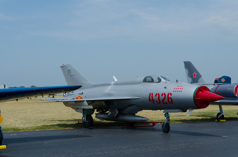 Mig 21, Our Nemesis in North Viet-Nam; Small, Agile and Well Control from Ground