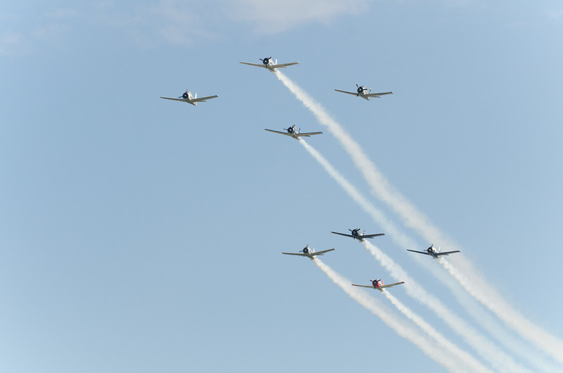 T-28s on Parade