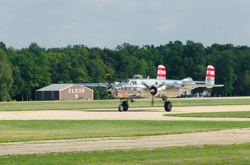 """B-25 """"Panchito"""" Sponsored by Disabled American Veterans"""