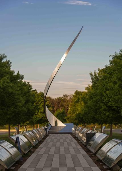 John Safer's magical sculpture, Ascent, at the Udvar-Hazy Center