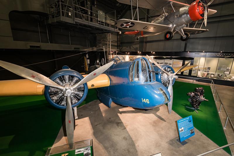1933 Martin B-10/B12, 1st all metal, monoplane bomber