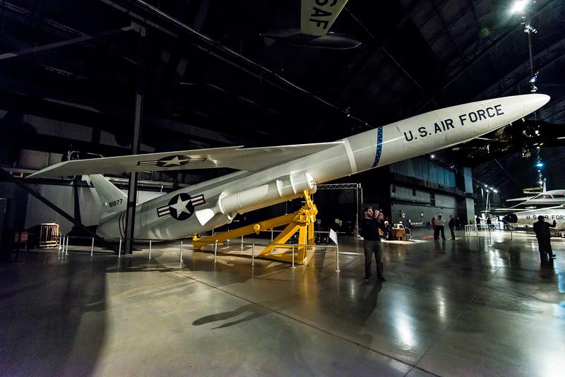 SN-52 Snark Intercon Cruise Missile, Northrop 1958, J-57 Jet