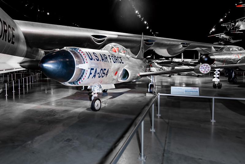 F-94C Upgraded Starfire.  2.75 FFARs in nose!  1950s