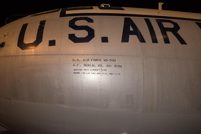 WB-50 Hi Altitude Recce, derived B-29