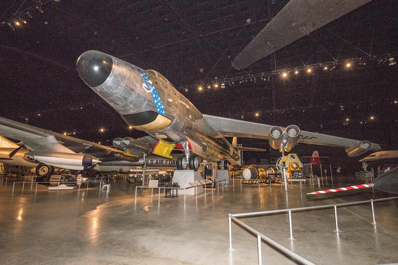 Boing B-47 Stratocruiser, first Jet Bomber