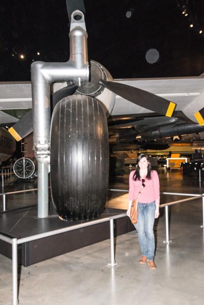 Original B-36 single main tire