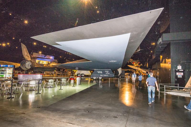 Northrup-Grumman B-2 Spirit Stealth Bomber, USAF Museum, Dayton Nov15