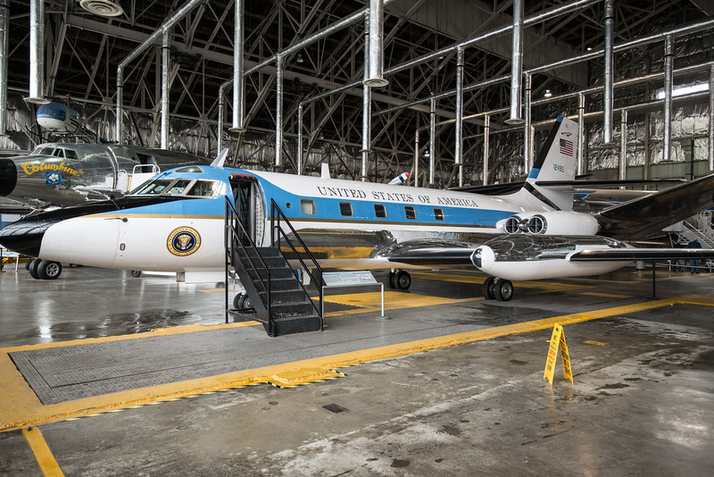 Lockheed VC-140 JetStar, Johnson, Nixon, Ford, Carter Regan