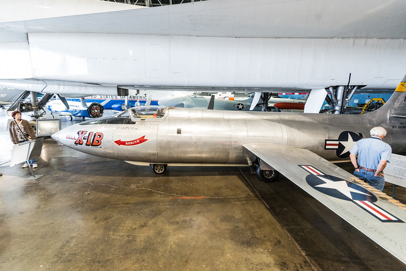 Bell X1-B, rocket powered