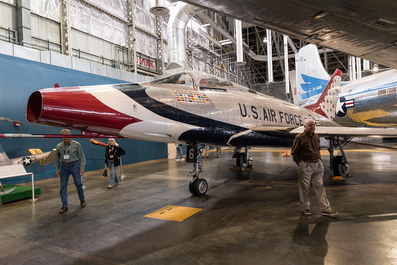 Thunderbird F-100. from 1956 until 1968
