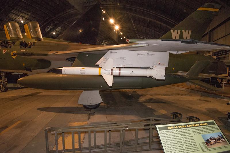 AMG-45 Shrike Radar Homing Missile