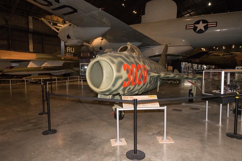 Mig 17, USAF Museum, Dayton Nov15