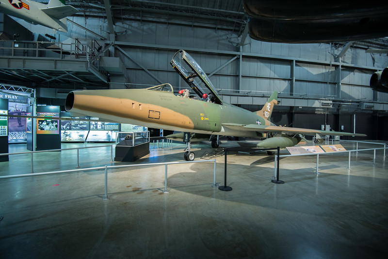 F-100F configured as A Misty Fast FAC