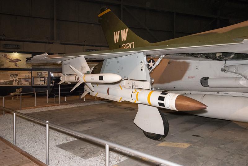 Shrike and Standard Arm Radar Homing Missiles
