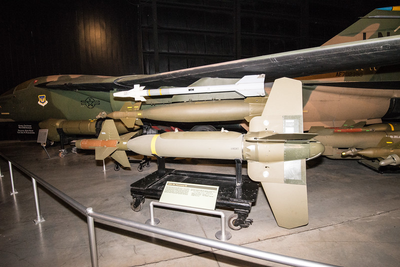 F-111 with EO Guided Bombs, first tried in Nam1