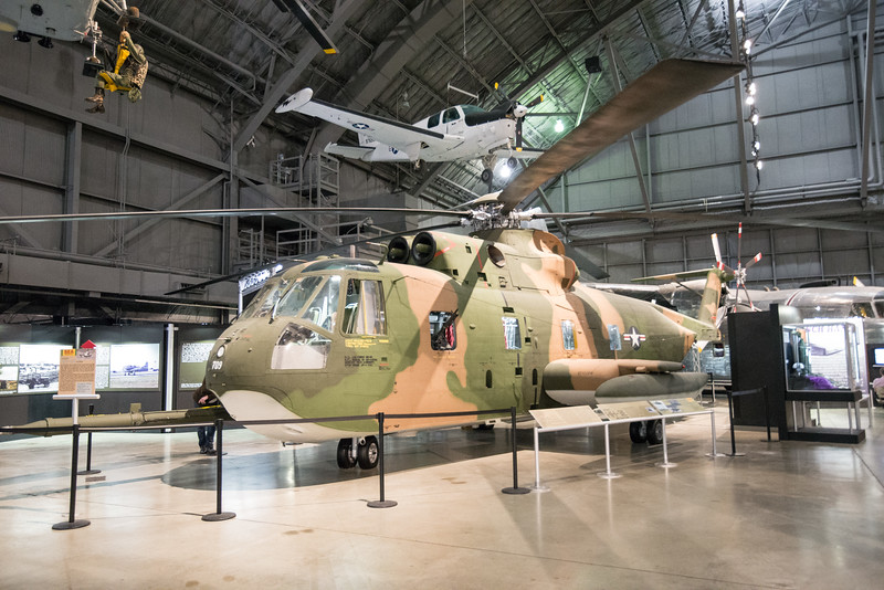 HH 53 Jolly Green Rescue Helo, saved many lives in Nam.