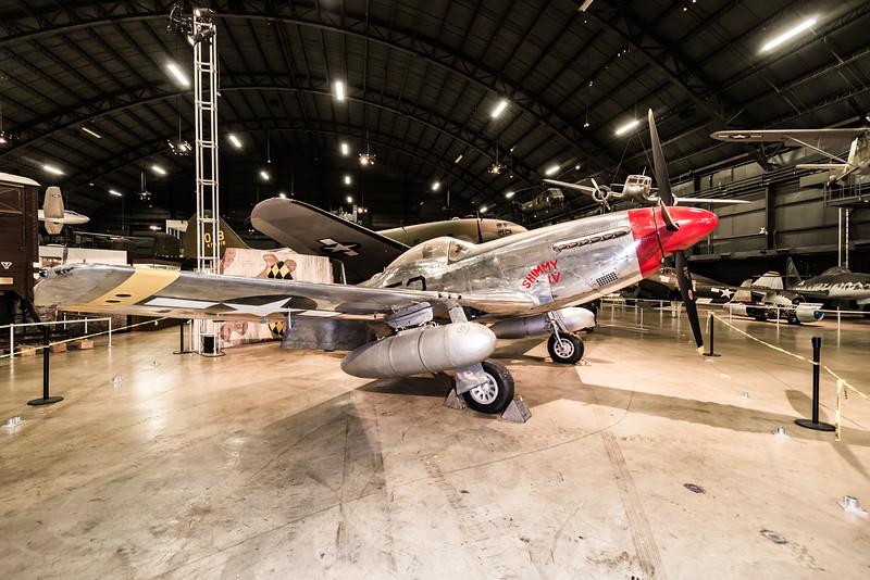 North American P-51D Mustang, design 1940