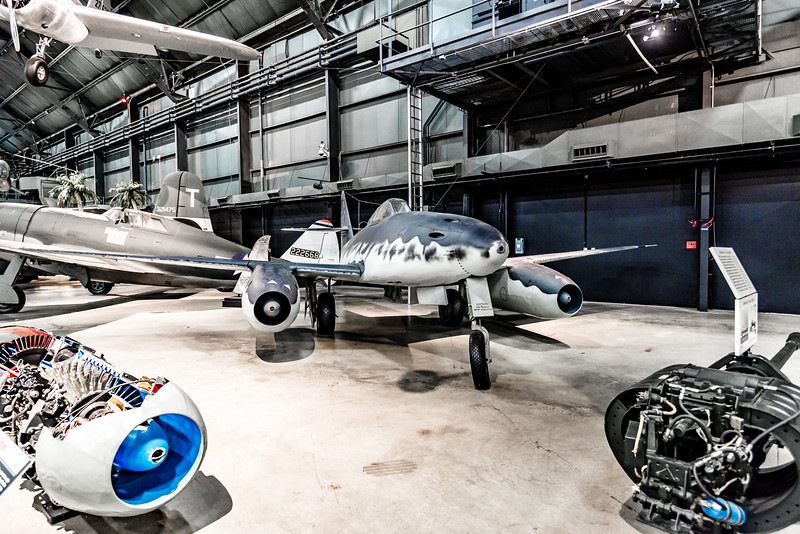 ME 262 Schwalbe, first operational jet, July 42, but only 300 saw combat.