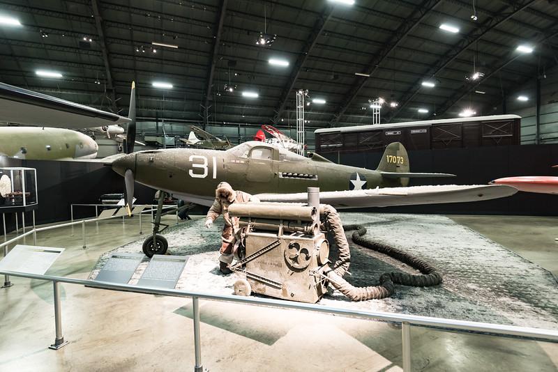 P-39 Aircobra in the Alutians