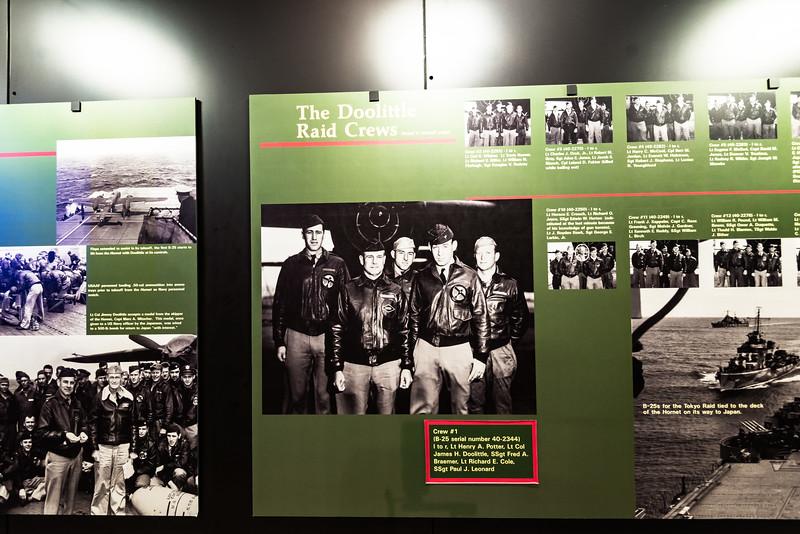 Doolittle Raiders. 16 April 1942.