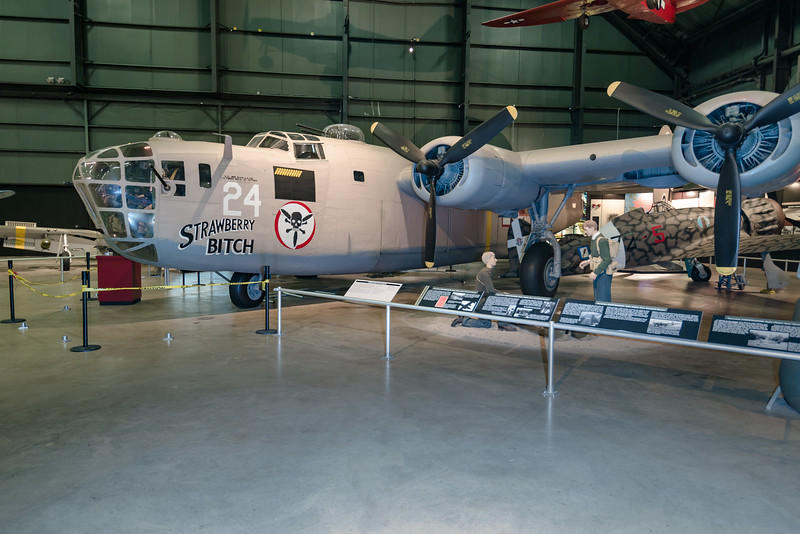 Consolidated B-24D Liberator, this from N. Africa Theater
