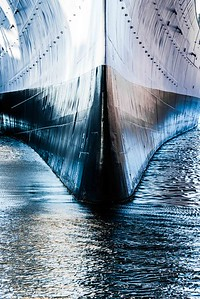 The Mighty Prow - USS Wisconsin