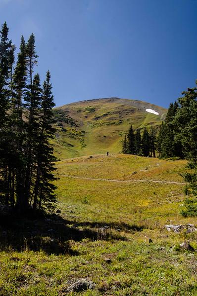 Peak 7, 12,655 feet.  I did not climb the last 55 feet.