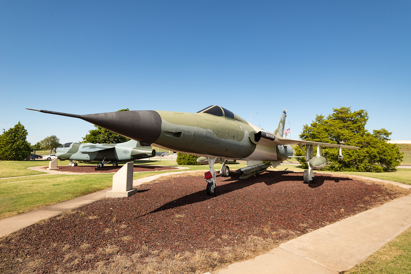 Republic F-105 Thunderchief - The Thud.  Prime NVN fighter-bomber, Tinker AFB