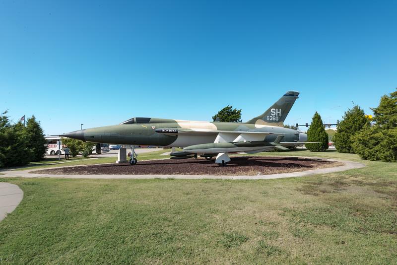 F-105 Thunderchief, Tinker AFB