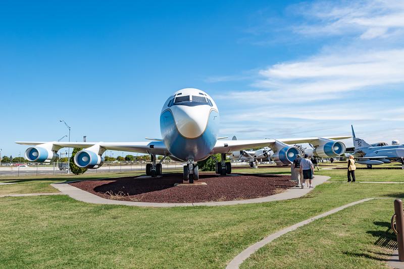 C-137, VC-135 VIP Transport, Tinker AFB